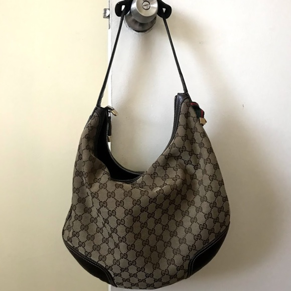 bd29acd5a5f90c Gucci Bags | Gg Monogram Hobo Beige Canvas Shoulder Bag | Poshmark